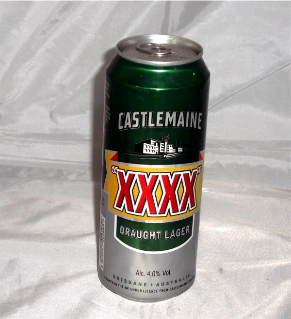 XXXX Beer Safe Can
